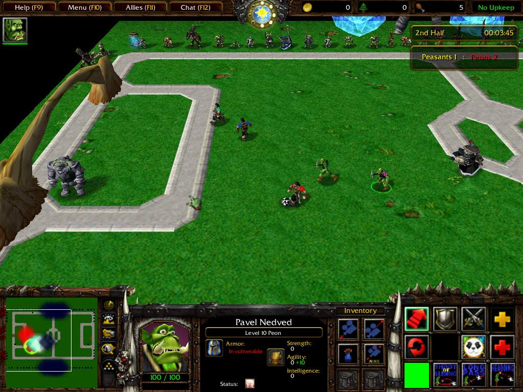WarCraft 3 Custom Map : World Cup